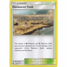 Devoured Field 93/111 Uncommon - Pokemon Crimson Invasion Card