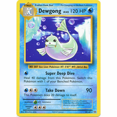 Dewgong 29/108 Rare - Pokemon XY Evolutions Single Card