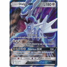 Dialga GX 82/131 Ultra Rare - Pokemon Sun & Moon Forbidden Light Card