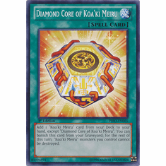 Diamond Core of Koa'ki Meiru PRIO-EN065 - Primal Origin Common Card