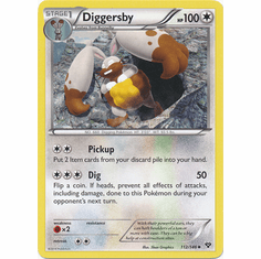 Diggersby 112/146 - Pokemon XY Uncommon Card