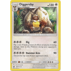 Diggersby 88/111 Uncommon - Pokemon Crimson Invasion Card