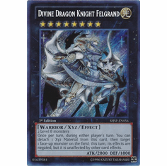 Divine Dragon Knight Felgrand SHSP-EN056 - YuGiOh Shadow Specters Secret Rare