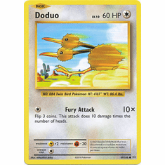 Doduo 69/108 Common - Pokemon XY Evolutions Single Card
