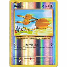 Doduo 69/108 Common - Reverse Pokemon XY Evolutions Single Card