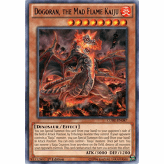 Dogoran, the Mad Flame Kaiju CORE-EN087 Rare - YuGiOh Clash of Rebellions Card