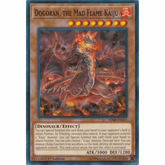 Dogoran, the Mad Flame Kaiju YuGiOh � Structure Deck Soulburner Common