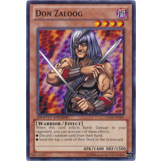 Don Zaloog GLD5-EN005 - YuGiOh Haunted Mine Common Card