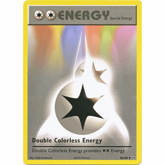 Double Colorless Energy 90/108 Uncommon - Pokemon XY Evolutions Single Card