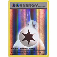 Double Colorless Energy 90/108 Uncommon - Reverse Pokemon XY Evolutions Single Card