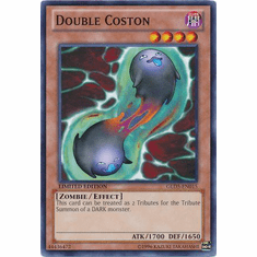 Double Coston GLD5-EN015 - YuGiOh Haunted Mine Common Card