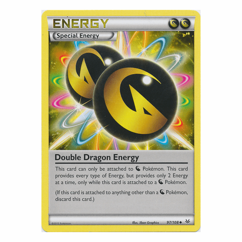 Double Dragon Energy 97/108 Uncommon - Pokemon XY Roaring Skies Card