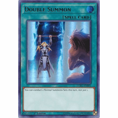 Double Summon LCKC-EN091 Ultra Rare - Legendary Collection Kaiba