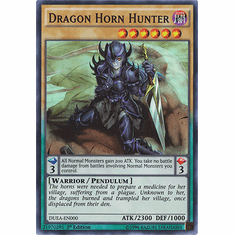 Dragon Horn Hunter DUEA-EN000 - Duelist Alliance SUPER RARE Duelist Alliance Card