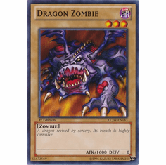 Dragon Zombie LCJW-EN183 - YuGiOh Joey's World Common Card