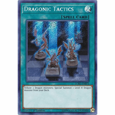 Dragonic Tactics LCKC-EN073 Secret Rare - Legendary Collection Kaiba