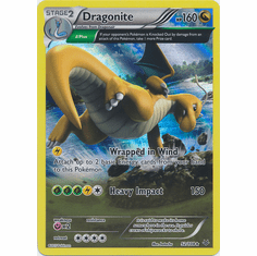Dragonite 52/108 Holo Rare - Pokemon XY Roaring Skies Card
