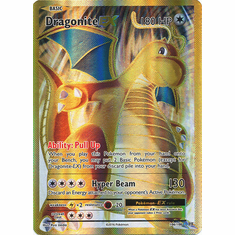 Dragonite EX 106/108 Full Art - Pokemon XY Evolutions Single Card
