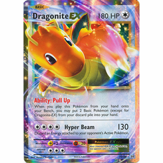 Dragonite EX 72/108 Ultra Rare - Pokemon XY Evolutions Single Card