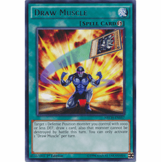 Draw Muscle NECH-EN057 - Rare The New Challengers Card