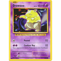 Drowzee 49/108 Common - Pokemon XY Evolutions Single Card