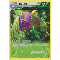 Dustox 8/108 Rare - Pokemon XY Roaring Skies Card