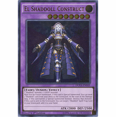 El Shaddoll Construct DUEA-EN049 - ULTIMATE RARE Duelist Alliance Card