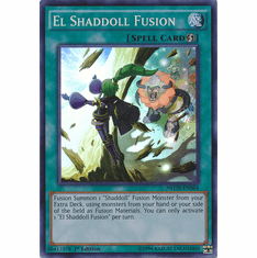 El Shaddoll Fusion NECH-EN064 - Super Rare The New Challengers Card