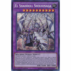 El Shaddoll Shekhinaga NECH-EN049 - Secret Rare The New Challengers Card