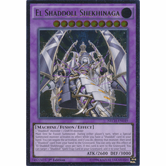 El Shaddoll Shekhinaga NECH-EN049 - ULTIMATE The New Challengers Card