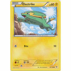 Electrike 24/108 Common - Pokemon XY Roaring Skies Card