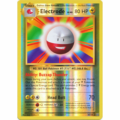 Electrode 40/108 Rare - Reverse Pokemon XY Evolutions Single Card