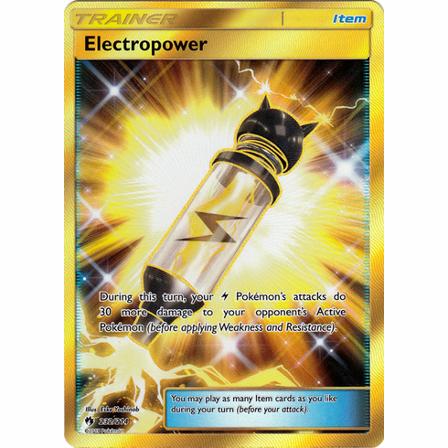 Electropower - 232/214 - Sun & Moon: Lost Thunder Secret Rare