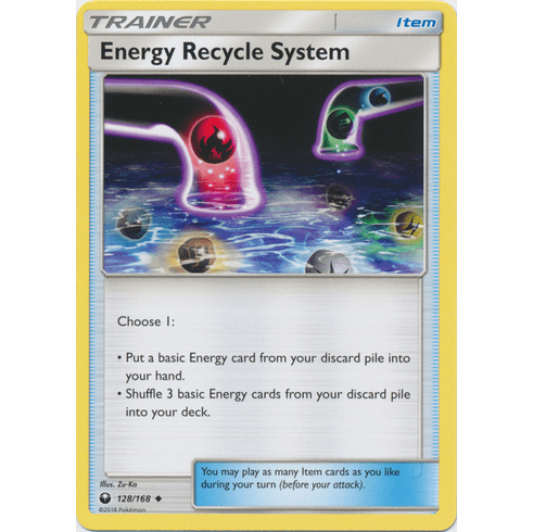 Energy Recycle System 128/168 Uncommon - Celestial Storm SM7 Pokemon Card