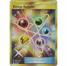 Energy Recycler 143/131 Secret Rare - Pokemon Sun & Moon Forbidden Light Card