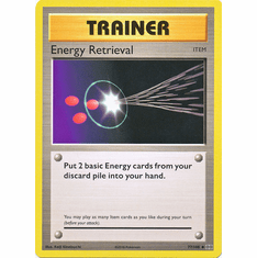 Energy Retrieval 77/108 Uncommon - Pokemon XY Evolutions Single Card