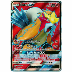 Entei GX - 71/73 - Full Art