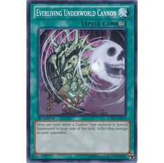 Everliving Underworld Cannon LCJW-EN214 - YuGiOh Joey's World Common Card