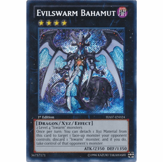 Evilswarm Bahamut HA07-EN024 - YuGiOh Knight Of Stars Secret Rare Card