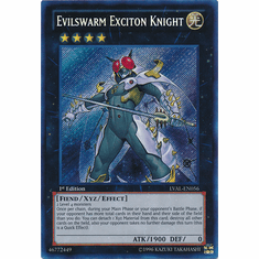 Evilswarm Exciton Knight LVAL-EN056 - Legacy Of The Valiant Secret Rare Card