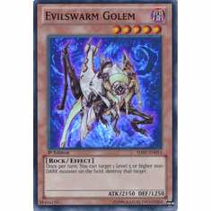 Evilswarm Golem HA07-EN053 - YuGiOh Knight Of Stars Super Rare Card