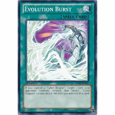 Evolution Burst SDCR-EN020 - YuGiOh Cyber Dragon Revolution Common Card