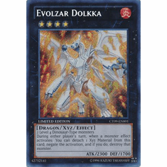 Evolzar Dolkka CT09-EN001 - YuGiOh 2012 Wave 1 Tin Super Rare Promo