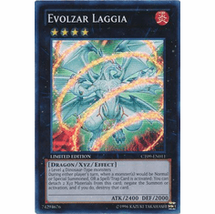 Evolzar Laggia CT09-EN0011 - YuGiOh 2012 Wave 1 Tin Super Rare Promo