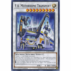 F.A. Motorhome Transport EXFO-EN087 Common - YuGiOh Extreme Force