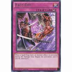 Face-Off DUEA-EN077 - Duelist Alliance RARE Duelist Alliance Card