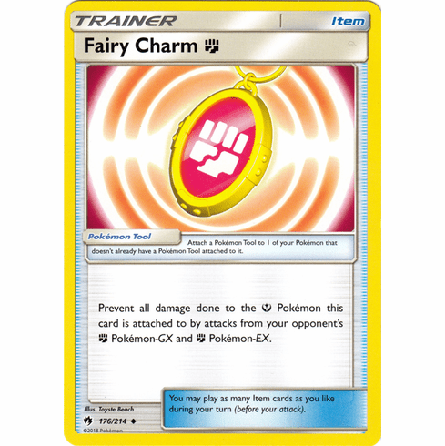 Fairy Charm F - 176/214 Pokemon » SM Lost Thunder Uncommon
