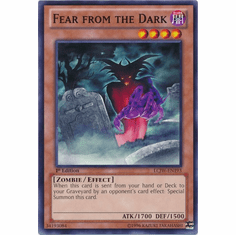 Fear from the Dark LCJW-EN193 - YuGiOh Joey's World Common Card