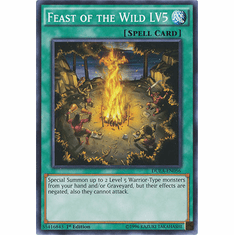 Feast of the Wild - LV5 DUEA-EN056 - Common Duelist Alliance Card