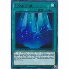 Final Light YuGiOh � Savage Strike Ultra Rare